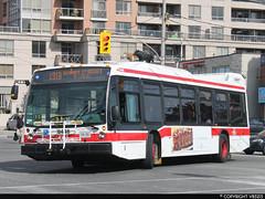Toronto Transit Commission #8446 (vb5215's Transportation Gallery) Tags: toronto bus nova ttc transit commission lfs 2015