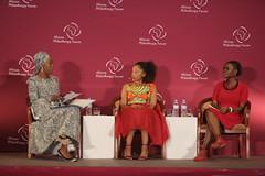 Toyin Saraki, Phuti Mahanyele, Judith Owigar