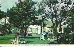 Middleton Tower Holiday Camp - The old farmhouse (trainsandstuff) Tags: vintage postcard retro pontins holidaycamp middletontower