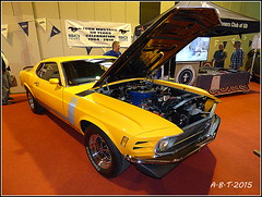 Ford Mustang (Alan B Thompson) Tags: 2015 nec car classic lumix fz72 picassa