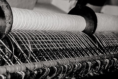 Industrial revolution (LeBlanc_Nigel) Tags: indoor mill working museum timesgoneby thread weaving gregs styal national trust industrial revolution quarrybankmill cotton machine
