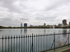 Trip to NYC (heytampa) Tags: nyc newyorkcity lake ny newyork skyline skyscrapers centralpark manhattan reservoir jacquelinekennedyonassisreservoir