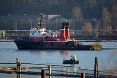 Seaspan Commodore (drmack2) Tags: marine boom surrey tugboat poles boomboat