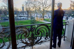 "Secretary Kerry Enjoys the View of Paris Before Participating in a Panel at the Mashable/UN Foundation ""Earth to Paris"" Summit (U.S. Department of State) Tags: foundation un unitednations johnkerry mashable cop21"