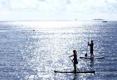 Paddle! (samikahkonen) Tags: summer finland helsinki surf board paddle hobby balticsea surfboard