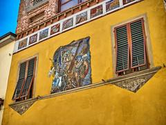 San Miniato - colorful houses (Toscana, Province Pisa, Italy) (Only Snatches) Tags: italien italy facade tuscany toscana hdr fassade toskana sanminiato wohnhaus residentialbuilding
