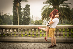 (@Juliana Cruz) Tags: wedding love nature vintage hug sweet coraes pre sw redhair inlove segura prewedding