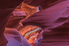 DSC_4650b_4654 (alanstudt) Tags: arizona nikon page slotcanyon d600 navajotribalpark adobelightroom sandstoneformation lowerantelopecanyon shotinrawformat alanstudt afsnikkor2485mmf3545gedvr kenstours