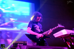 Shishir the Guitarist. (dibakardipu) Tags: blur night concert live lead gutarist