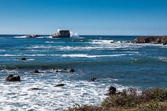 San Simeon Coast (AndreasGarcia) Tags: ocean california sea color nature digital landscape photography waves sansimeon centralcoast originalphotography canon5dmkii