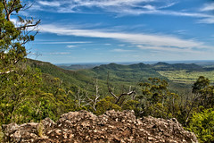 Lookout from Bunya Mountains NP, Koondaii walk (Tatters ) Tags: landscape view australia lookout hills queensland bunyamountainsnationalpark oloneo bunyamnp