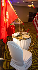 Marines (karin8700) Tags: christmas party white soldier chair marine flags tablecloth marinecorp nikond7100 league260