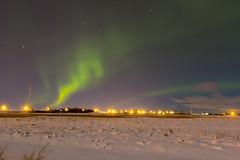 Dancing lights (begineerphotos) Tags: light cloud snow green field alberta aurora northernlights auroraborealis challengegamewinner friendlychallenges