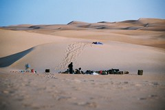 Mauritanie (denismartin) Tags: sleeping water sand desert dune  mauritania mauritanie erg   warane canoneos500  chinguetti adrar ergouarane   denismartin