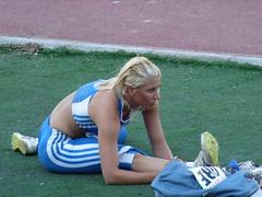 P1120461 (kusanli) Tags: woman beautiful greek team women european championships voula athlete izmir athletism paraskevi papachristou