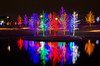 Vitruvian Lights (brian.a.eaton) Tags: trees outdoors lights dallas pond nikon december texas christmaslights addison d7000 vitruvianpark vitruvianlights