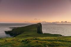 Sunset glow Neist Point, Isle of Skye (Tim Bow Photography) Tags: timbowphotography timboss81 welsh british isleofskye neistpoint westerntipscotland cliffs landscape sunset amazing colour color coloursunsetlandscape beautifulscottishlandscapes landscapesofskye welshphotographer bucketlist viewpoint scotland visittheisleofskyescotland