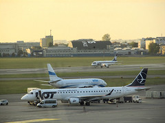 Embraer 195, SP-LNF, Polish Airlines LOT (transport131) Tags: samolot airplane waw embraer pll lot polish airlines
