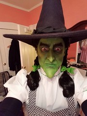 Sean Brown as the Wicked Witch of the West dressed up as Dorothy Gale. Halloween 2016 (Halloween in Oz) Tags: seanbrown halloween2016 salem ma hawthornehotelcostumeball sevendeadlysins glinda oz halloweeninoz salemhauntedhappenings2016