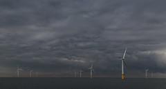 Work (A Crowe Photography) Tags: cloud offshore windfarm wales welshflickrcymru welshlandscape sea seascape