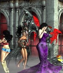 Jesie Halloween Party 8 (hunnibear86) Tags: halloween costume secondlife sl demon wolf lycan