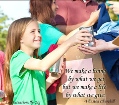 quote-liveintentionally-we-make-a-living-by (pdstein007) Tags: quote inspiration inspirationalquote carpediem liveintentionally