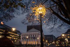 Sortilège d'automne (Gilderic Photography) Tags: liege belgium belgique belgie autumn morning night light opera architecture lamp street city g7x canon gilderic