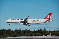 Turkish Airlines - TC-JSY - A321-200 (Aviation & Maritime) Tags: tcjsy turkishairlines turkish airbus a321 a321200 airbus321 airbus321200 osl engm osloairportgardermoen oslolufthavngardermoen osloairport gardermoen norway