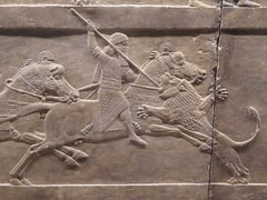 Lion Hunt (Aidan McRae Thomson) Tags: nineveh relief sculpture ancient assyrian mesopotamia britishmuseum london