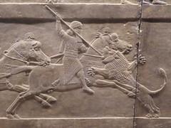 Lion Hunt (Aidan McRae Thomson) Tags: nineveh relief sculpture ancient assyrian mesopotamia britishmuseum london