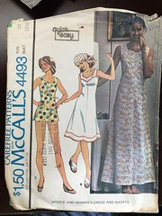 4493 (mrogers1@uw.edu) Tags: carefree mccalls dress woven shorts 1970s pants