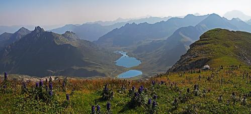 Lungauer Kalk Spitze - eastern views