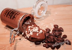 Mousse di banana con cacao e avocado (RicetteItalia) Tags: vegan vegano ricette vegane veg