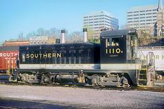 Southern SW7 1110 (Chuck Zeiler) Tags: sr sou sw7 1110 railroad emd locomotive chz