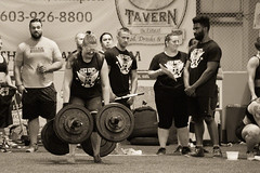 Long Haul (coyote86) Tags: coyote86 coyoteimages strong woman competition 2016 strongwomancompetition molly lifting weight weightlifting blackandwhite blackwhite black white bw maine portland portlandmaine muscles strength longhaul sepiatone