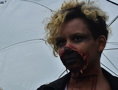 Zombie Walk Kingston221016_0371 (Hilbert 1958) Tags: zombiewalkkingston ontario 22october2016 blood gore brainfood confederationbasin cityhall celebration undead makeup costume play