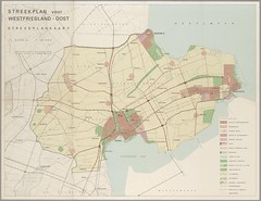 Streekplan West-Friesland 1969 (Regionaal Archief Alkmaar Commons) Tags: westfriesland hoorn enkhuizen medemblik