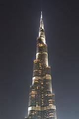 Burj Khalifa - Dubai, United Arab Emirates (Dutchflavour) Tags: burjkhalifa dubai unitedarabemirates uae night lights skyscraper