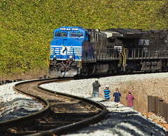 2M8C9218-2 (Scott Ridenhour) Tags: 4001 745 norfolksouthern northcarolina