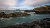 Godrevy Lighthouse, Cornwall (dandraw) Tags: godrevylighthouse lighthouse godrevy sea seascape wideangle autumn rocks sky clouds longexposure cornwall nikon d7100 sigma1020mm sigma