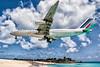 Air France Airbus A340-300 F-GNIG (atcogl - ATC @ YYZ) Tags: sxm tncm stmaarten stmartin antilles dutch maho mahobeach canon eos 20d efs1855f3556 aircraft airliner airplane aeroplane plane jet heavy widebody aviation avion flugzeug airfrance af afr skyteam fgnig airbus a340 a340300 a343