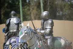 IMG_4755 (joyannmadd) Tags: renaissance hammond louisiana festival jousting birds prey celtic queens kings laren fest juggler washing well wenches wiskey bay rovers music midevil combat horse war fight armour joust dual knives knight shining run outdoor competition