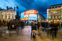 """Motion"" Piccadilly Circus, London, UK (davidgutierrez.co.uk) Tags: london photography davidgutierrezphotography city art architecture nikond810 nikon urban travel color night blue photographer uk londonphotographer rain piccadillycircus bluehour twilight buildings england unitedkingdom  londyn    londres londra europe beautiful cityscape davidgutierrez capital structure britain greatbritain d810 building street candid neon longexposure le iconic landmark ultrawideangle afsnikkor1424mmf28ged 1424mm arts lighttrails streaminglights traffic lights colourful vibrant attraction icon taxi cab redbus bus people shopping colors colours colour westendoflondon dusk motion"
