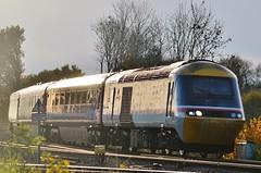 43185 (stavioni) Tags: hst fgw gwr first great western railway rail diesel class43 high speed train inter city intercity 125 british swallow livery 43185