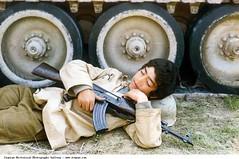 #Teenage Iranian Basiji resting with his kalashnikov. Second battle of Khorramshahr, 1982. [800x532] #history #retro #vintage #dh #HistoryPorn http://ift.tt/2fKbDrQ (Histolines) Tags: histolines history timeline retro vinatage teenage iranian basiji resting with his kalashnikov second battle khorramshahr 1982 800x532 vintage dh historyporn httpifttt2fkbdrq