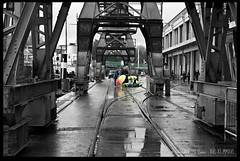 Incident (zweiblumen) Tags: mshed princeswharf harbourside bristol england uk cranes paramedic canoneos50d canonef50mmf14usm polariser zweiblumen