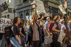 """Not My President"" (janescanlan) Tags: usa ca sf sanfrancisco demonstrations protest marketstreet"