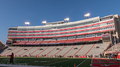 Husker's stadium (Codydownhill) Tags: football game huskers big red sports portrait trophy brother dad