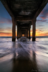 Lusty (Visual Sensory) Tags: beach coast goldenhour la manhattanbeach pacificocean pier sunset water coastal ocean seascape twilight