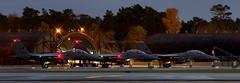 494th F15s at last chance in the low light-1 (markranger) Tags: 494th low ight dusk night raf lakenheath f15e strikeeagle